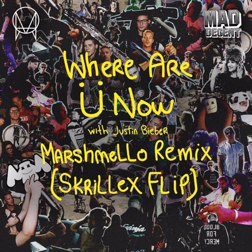 Where Are U Now (Marshmello Remix) [Skrillex Flip]