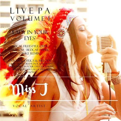 LIVE VOCAL PA clip – Lady in Your Eyes : Miss Jolanda for Kolour Sundays