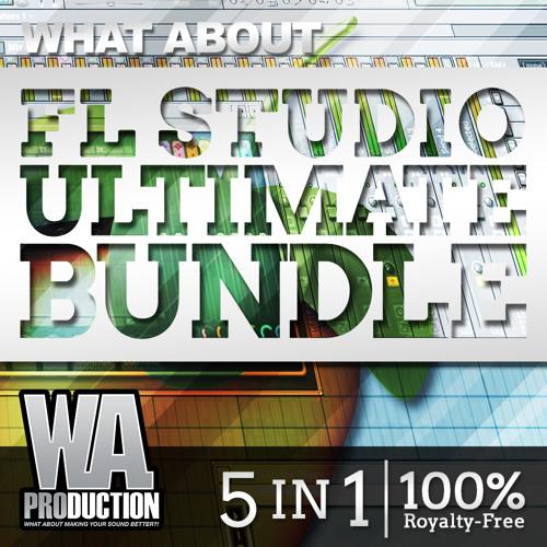 FL Studio Ultimate Bundle [9 FL Studio Projects, 54 Mixer Presets