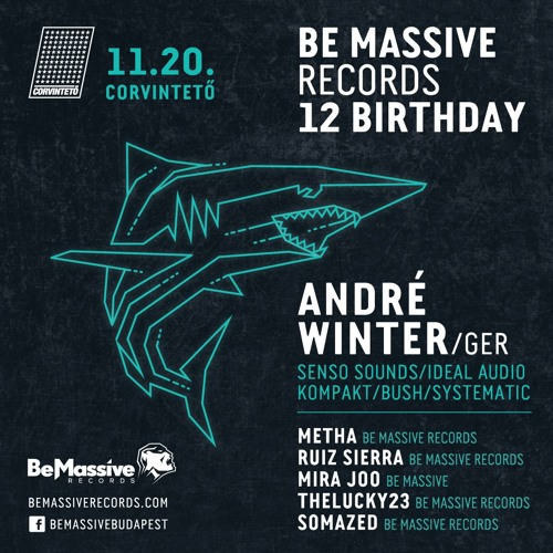 André Winter exclusive mix for Be Massive Records 12th Birthday