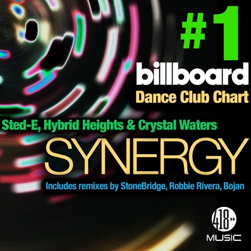 Out Now: Sted-E, Hybrid Heights & Crystal Waters - Synergy (StoneBridge Mix) Preview