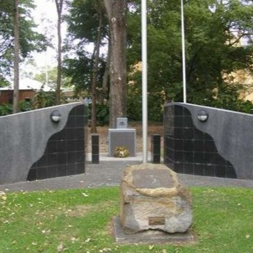 Vietnam War Memorial, Newcastle - Jim Husband - 27 Aug 1987