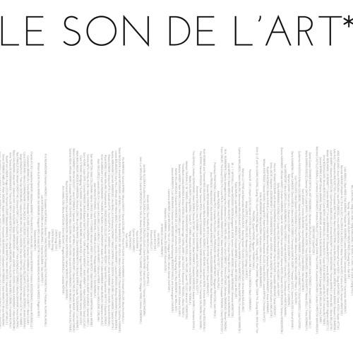 Le son de l'art (the sound of art)
