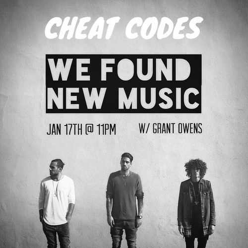 Cheat Codes LIVE Radio Performance - WE FOUND NEW MUSIC With Grant Owens (JAN 2015)