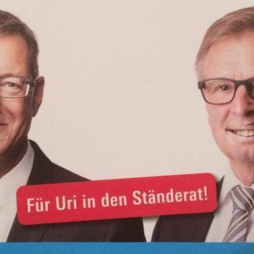 Uri schickt erstmals SVP-Vertreter nach Bern