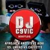 Afrojack And Steve Aoki VS. LMFAO VS.Cazzette - Beam Beef And Champagne (DJ.C9VIC Bootleg)
