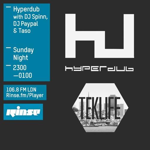 Rinse FM Podcast - Hyperdub w/ DJ Spinn, DJ Paypal +  Taso - 8th November 2015