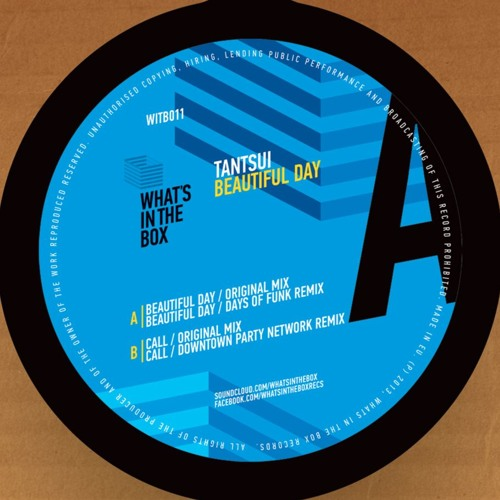 TANTSUI - Beautiful Day (Original Mix) | FREE DOWNLOAD
