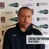 British Basketball League 2015/16: Surrey Scorchers head coach Creon Raftopoulos