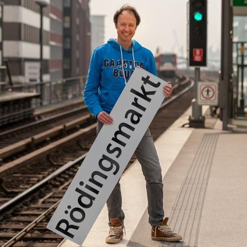 42 Minuten Hamburg - Geschichten aus der Hamburger Ringlinie. Rödingsmarkt: Frederik Braun.