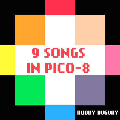 9 songs in Pico-8