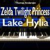 Zelda Twilight Princess - Lake Hylia, Piano