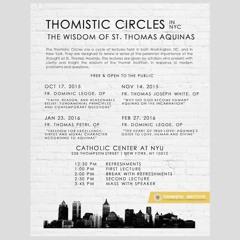 "Fr. Dominic Legge OP: ""Faith, Reason, and Reasonable Belief: Part I"" (10/17/2015)"