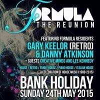 Gary Keelor - Formula 'The Reunion' @ Botanica - Carlisle (24/5/2015)