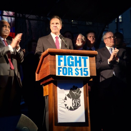 Governor Cuomo Raises Minimum Wage for State Workers to $15 Per Hour