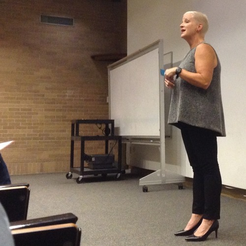 Q&A with Jill Talbot at the University of North Texas