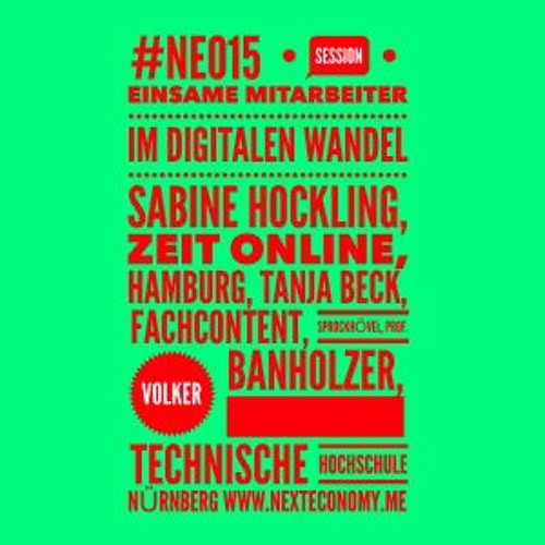 #Industrie40 als politischer Begriff - #NEO15 Interview mit Prof. Banholzer