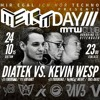 Diatek b2b Kevin Wesp 3-Hour-Set @ MEIHT || MTW Club, Offenbach || 24.10.2015 (Free DL)