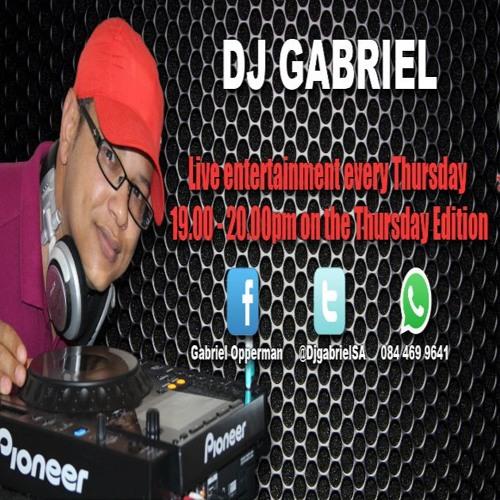 Dj Gabriel Thursday Edition 12 - 11 - 2015 Mix