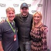 Chris Young with Ryno and Tracy
