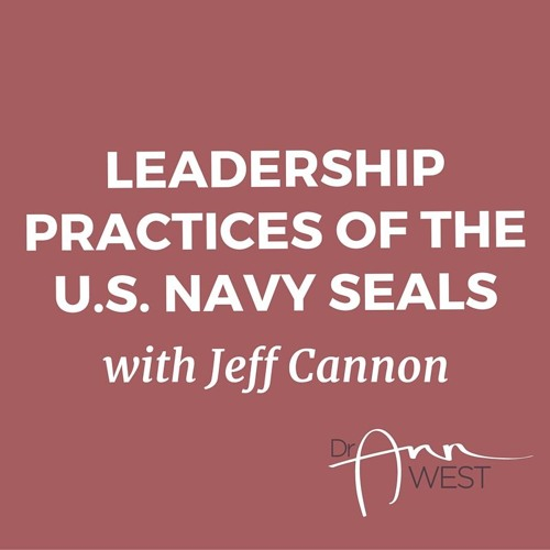 "Ann West Interviews Jeff Cannon about ""Leadership Lessons of the U.S. Navy SEALS"""