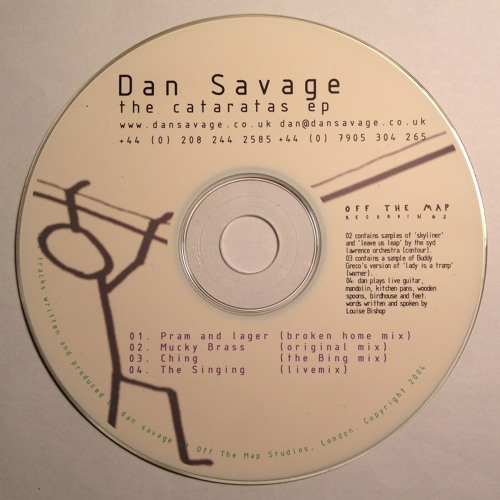 Dan Savage - The Singing (Livemix)