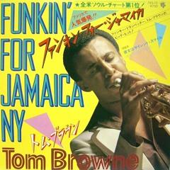 Tom Browne introducing Funkin For Jamaica aka Jamiaca Funk on my old skool show