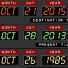 Back to the future (b-bday version)