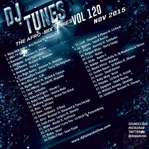 Dj Tunes Vol 120 Afro Mix Nov 2015