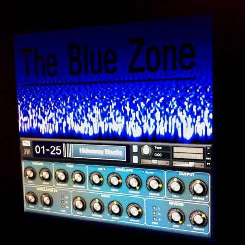 Hideaway Studio: Welcome to The Blue Zone...