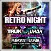 Truk Vs Uhoh 3 hour live set / Retro Night @ Pegasus Lounge Tampa FL 11-13-2015