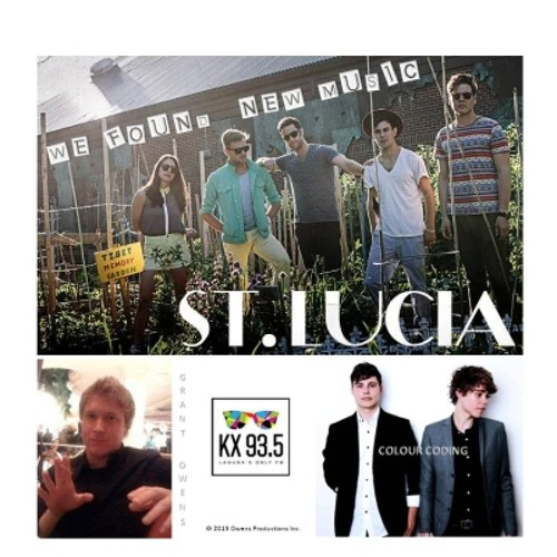 ST LUCIA | Interview WE FOUND NEW MUSIC with Grant Owens