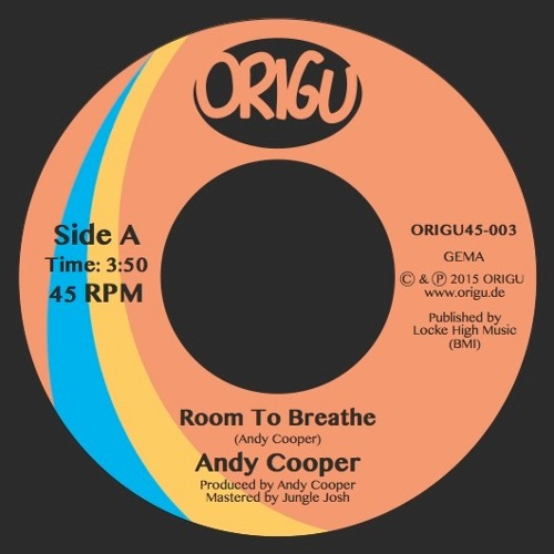 Andy Cooper: Room To Breathe