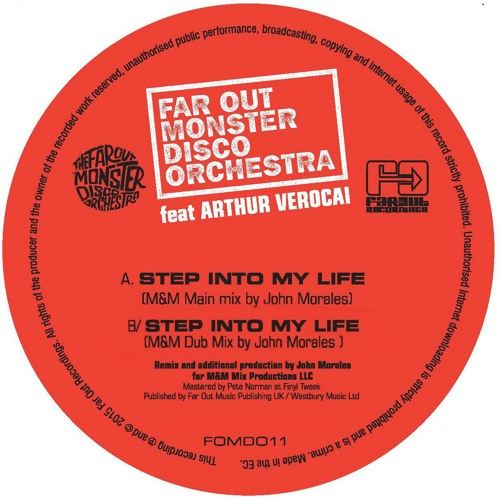 Premiere: Far Out Monster Disco Orchestra -  Step Into My Life (M&M Main Mix By John Morales)