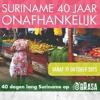 40 dagen Suriname - Ida Does ontwierp 'Srefidensi' t-shirt met knipoog naar dichter Trafossa