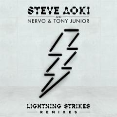 Steve Aoki, NERVO & Tony Junior - Lightning Strikes (Bad Royale Remix)