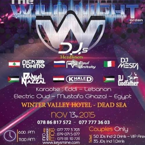 DJ Mesta Live @ Wild Night Festival (Middle East)- @djmesta