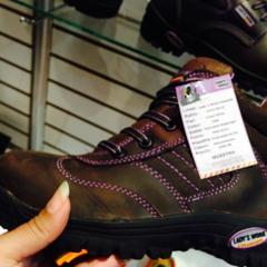 Nueva Linea de zapato de seguridad Comando LadyWork