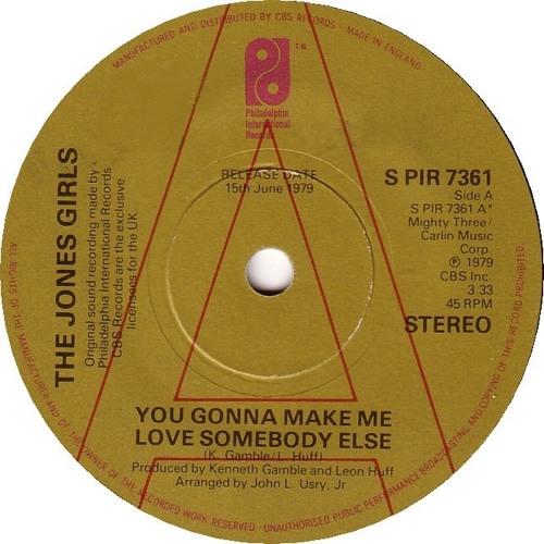 The Jones Girls - You Gonna Make Me Love Somebody Else (House Re - Edit)