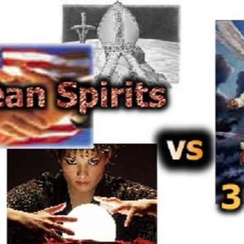 """AT-9: """"Three Unclean Spirits vs 3 Angels"""""""