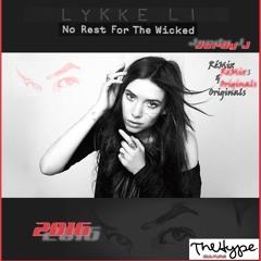 "No Rest For The Wicked by Lykke Li - Jordy J ""Promo Version"""