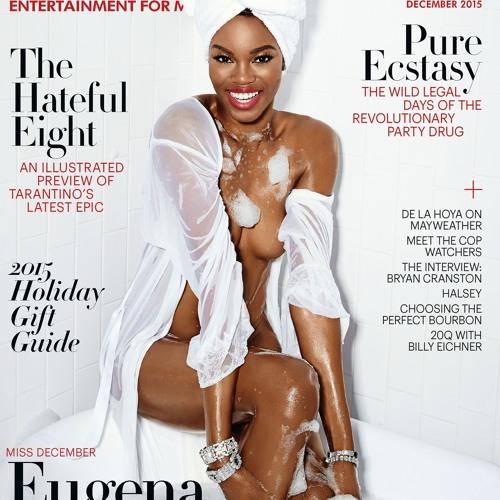 Playboy's Miss December Eugena Washington 11 - 23 - 15