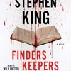FINDERS KEEPERS By Stephen King, Read By Will Patton