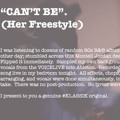 Klassik – Can't Be. (Her Freestyle)