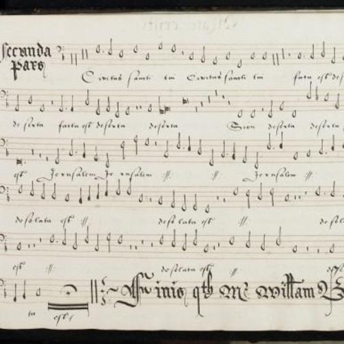 Gaudeamus performing William Byrd's 'Ne irascaris Domine'