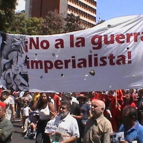 #CadaLatidoCuenta contra el Guerrerismo Imperial