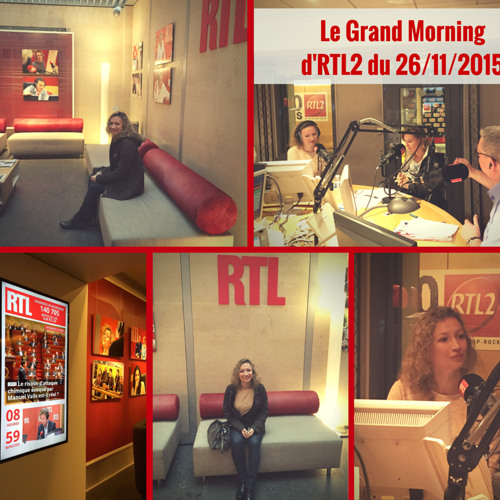 Charlotte dans Le Grand Morning sur RTL2 (26 Novembre 2015)