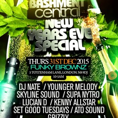 Bashment Central New Years Eve Edition Mixed by Younger MELODY & @DJSCYTHER