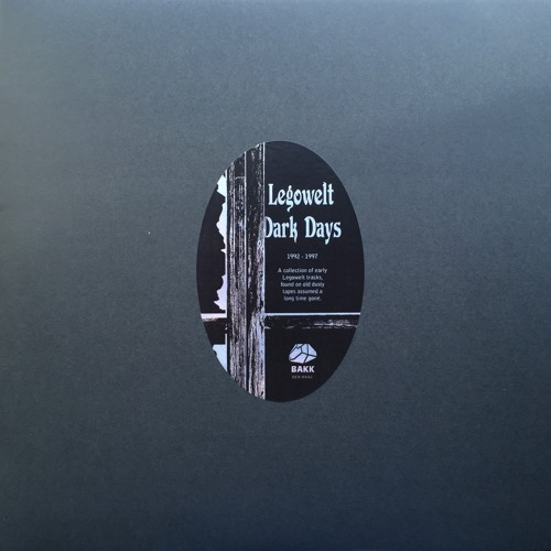 BAKKDD1 | Legowelt - Dark Days // 3LP (Previews)