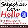 SEBASTIAN COLE - HELLO (Adele Cover) - (DJ RONNY D. -DEEP INTO HOUSE- REMIX)